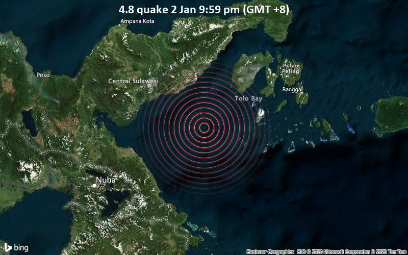 4.8 quake 2 Jan 9:59 pm (GMT +8)