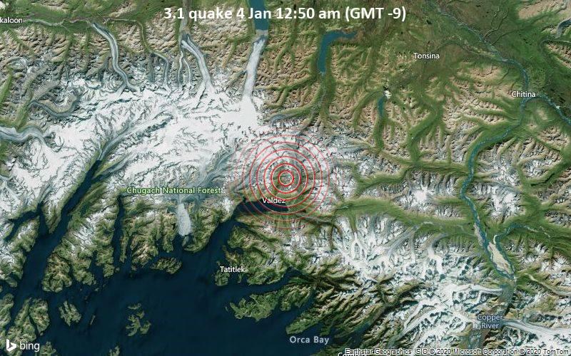 3.1 quake 4 Jan 12:50 am (GMT -9)