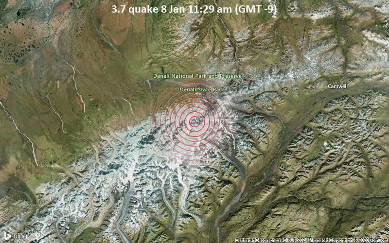 3.7 quake 8 Jan 11:29 am (GMT -9)
