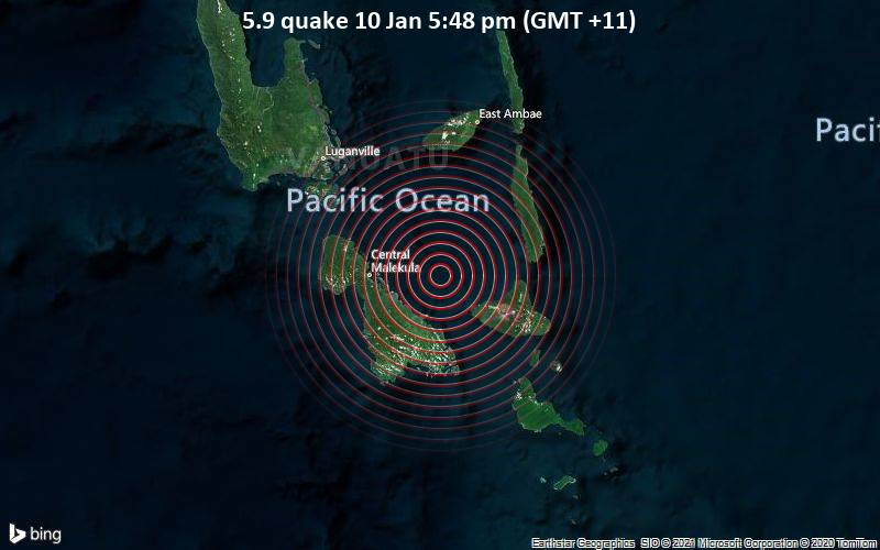 5.9 quake 10 Jan 5:48 pm (GMT +11)