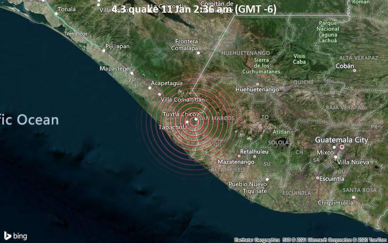 4.3 quake 11 Jan 2:36 am (GMT -6)