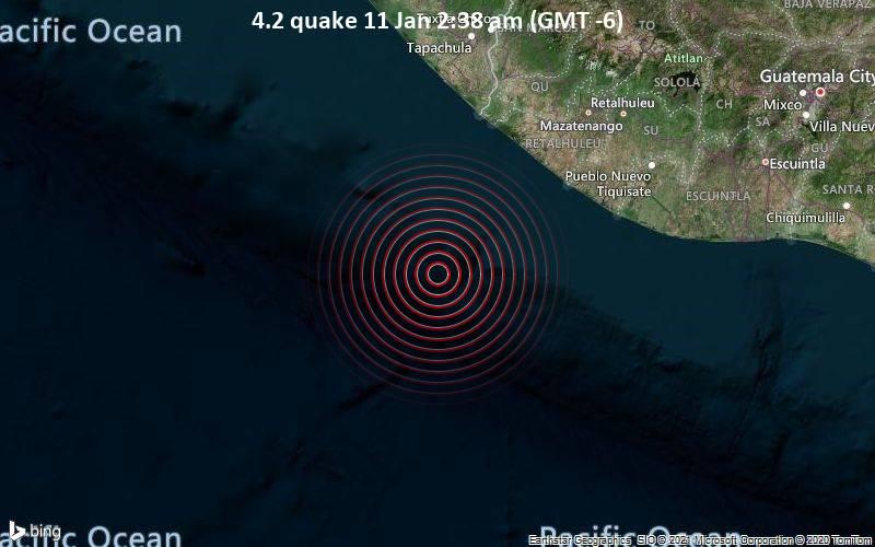 4.2 quake 11 Jan 2:38 am (GMT -6)