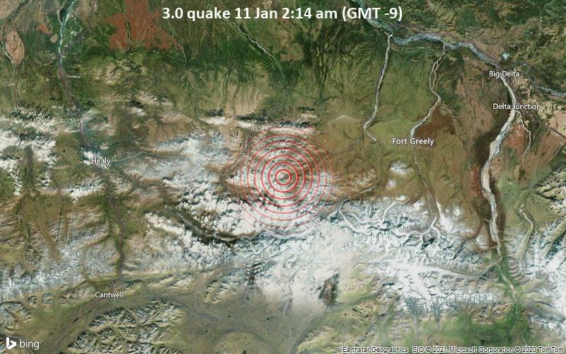 3.0 quake 11 Jan 2:14 am (GMT -9)