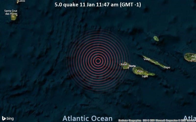 5.0 quake 11 Jan 11:47 am (GMT -1)