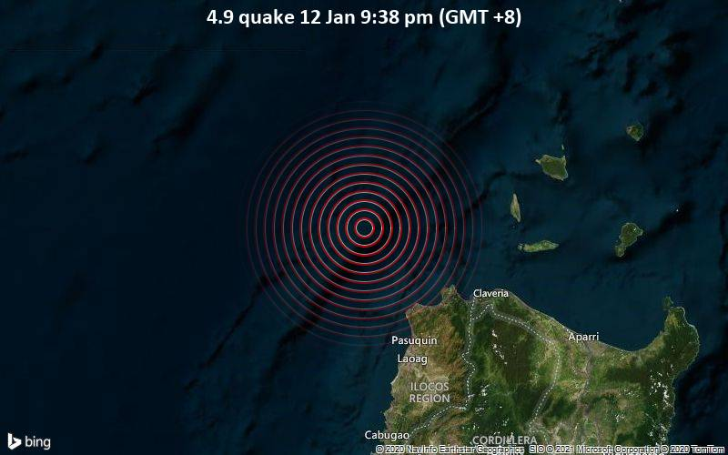 4.9 quake 12 Jan 9:38 pm (GMT +8)