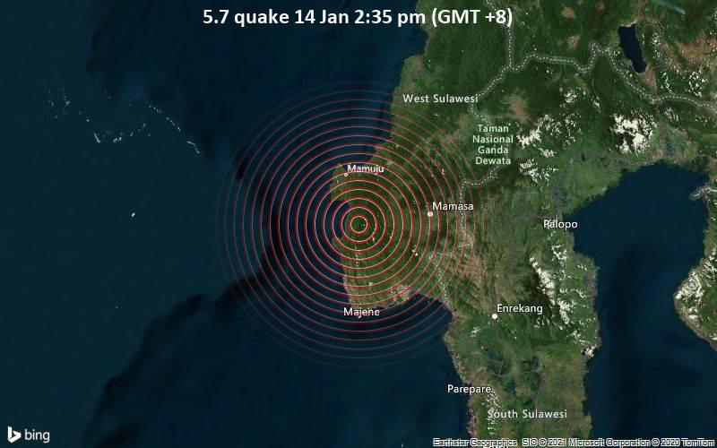 5.7 quake 14 Jan 2:35 pm (GMT +8)
