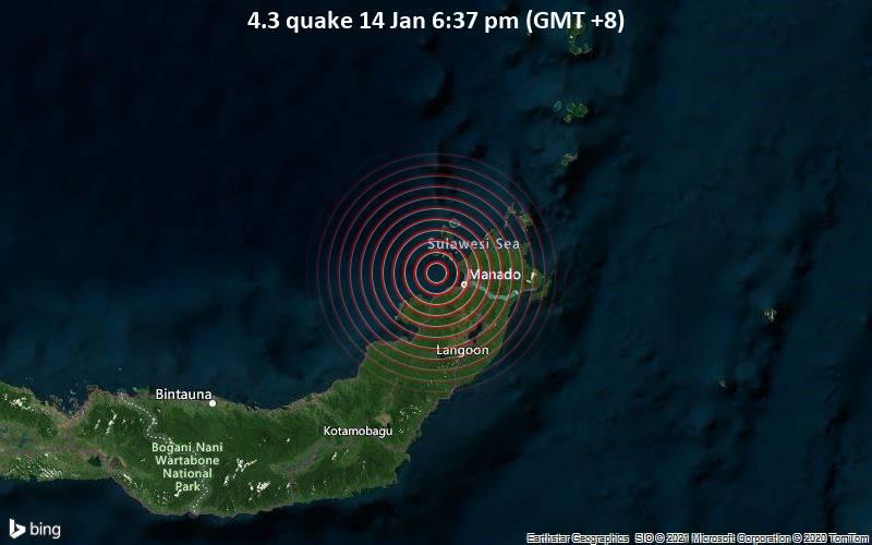 4.3 quake 14 Jan 6:37 pm (GMT +8)