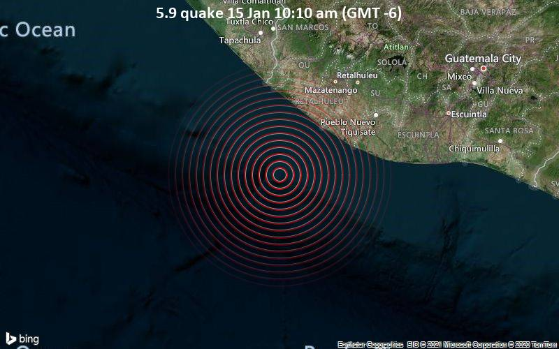 5.9 quake 15 Jan 10:10 am (GMT -6)