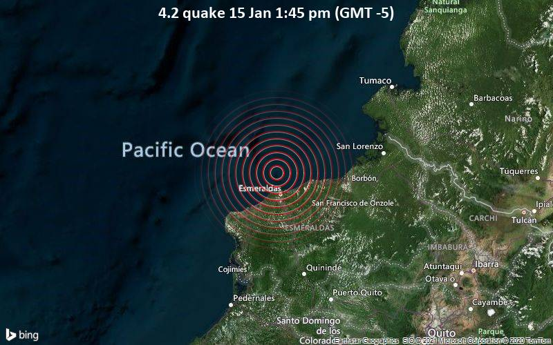 4.2 quake 15 Jan 1:45 pm (GMT -5)