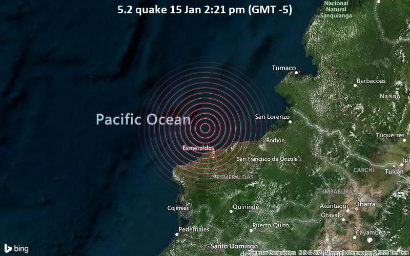 5.2 quake 15 Jan 2:21 pm (GMT -5)