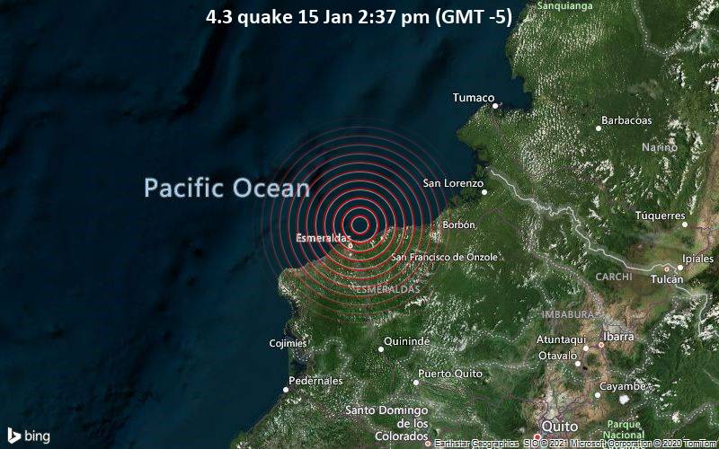 4.3 quake 15 Jan 2:37 pm (GMT -5)