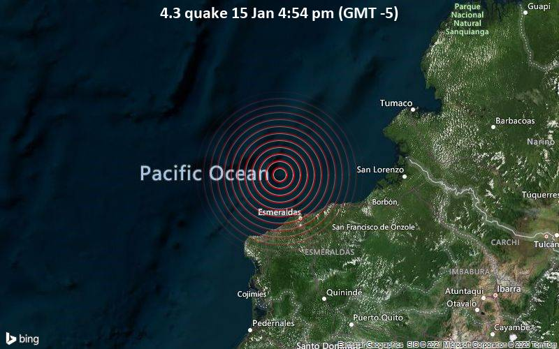 4.3 quake 15 Jan 4:54 pm (GMT -5)