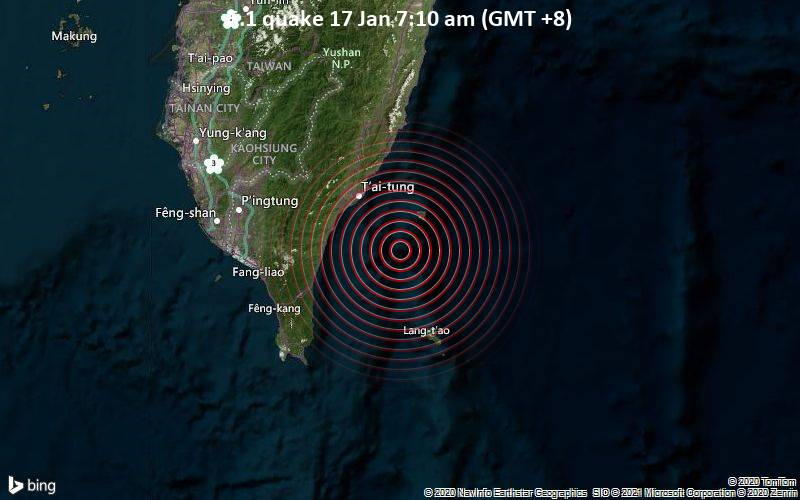 5.1 quake 17 Jan 7:10 am (GMT +8)