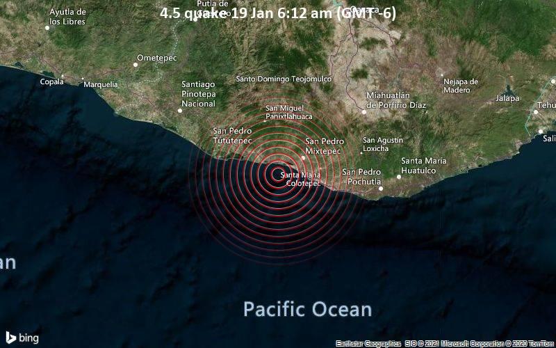 4.5 quake 19 Jan 6:12 am (GMT -6)
