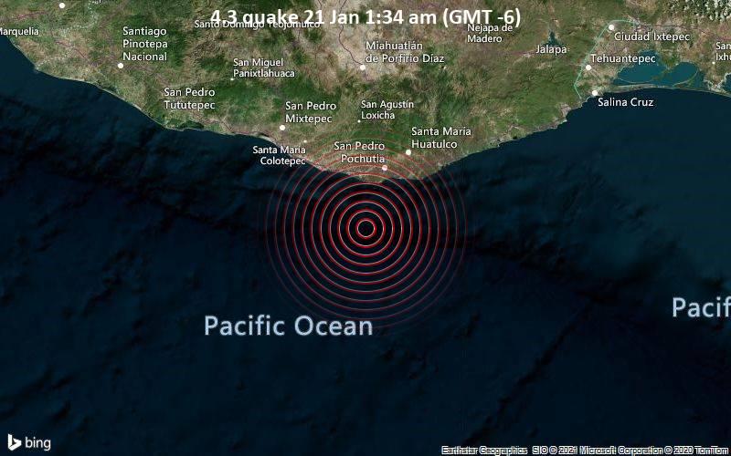 4.3 quake 21 Jan 1:34 am (GMT -6)