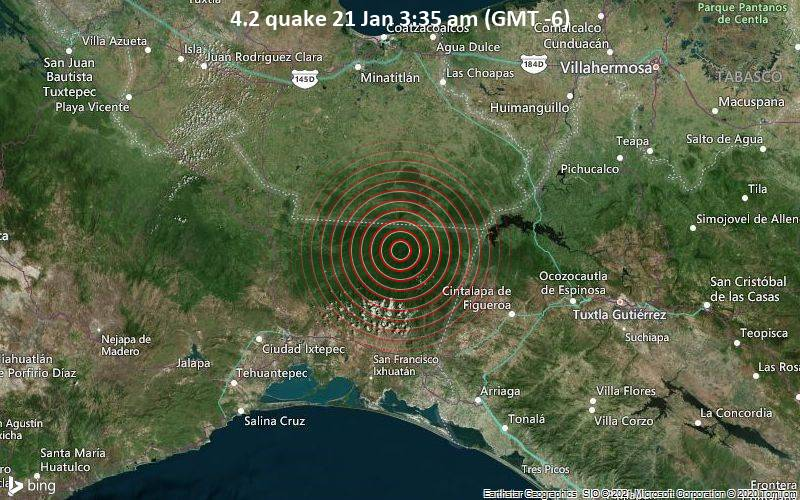 4.2 quake 21 Jan 3:35 am (GMT -6)