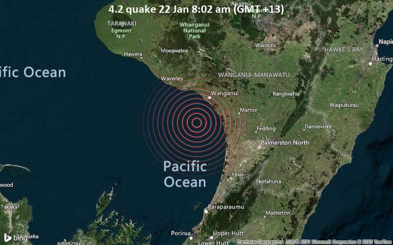 4.2 quake 22 Jan 8:02 am (GMT +13)