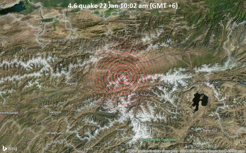 4.6 quake 22 Jan 10:02 am (GMT +6)