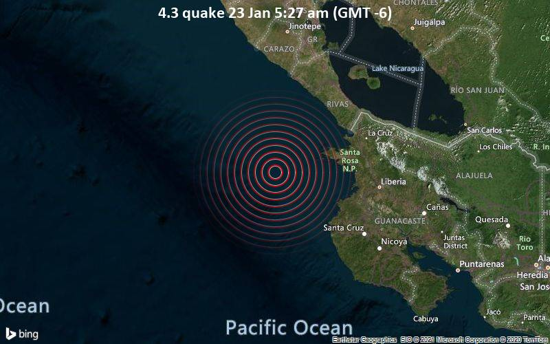 4.3 quake 23 Jan 5:27 am (GMT -6)