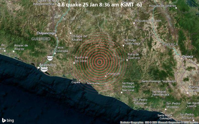 4.6 quake 25 Jan 8:36 am (GMT -6)