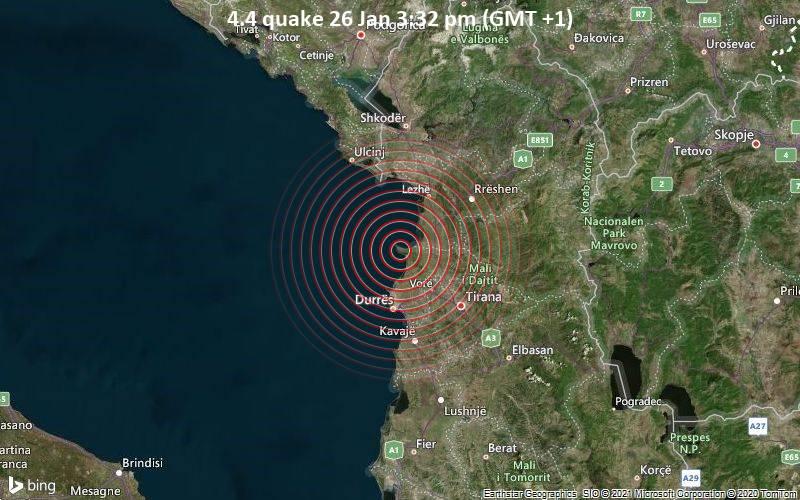 4.4 quake 26 Jan 3:32 pm (GMT +1)