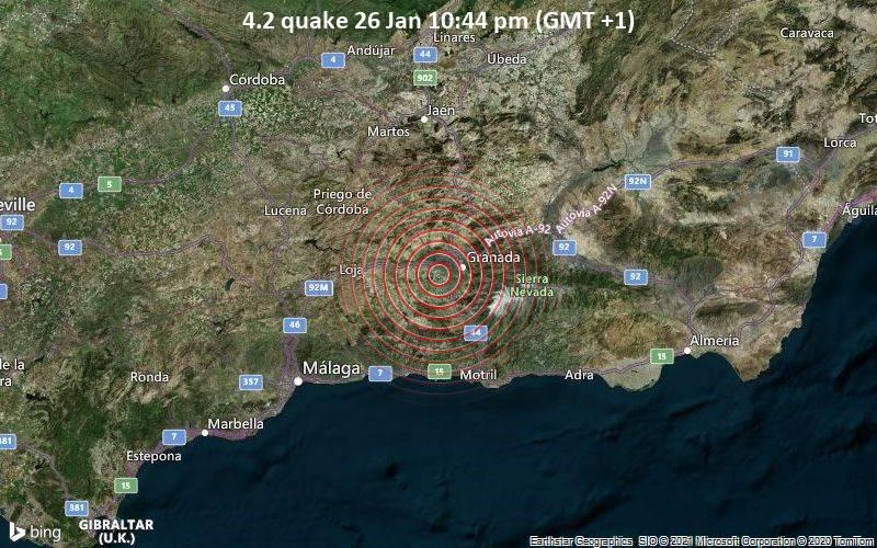 4.2 quake 26 Jan 10:44 pm (GMT +1)