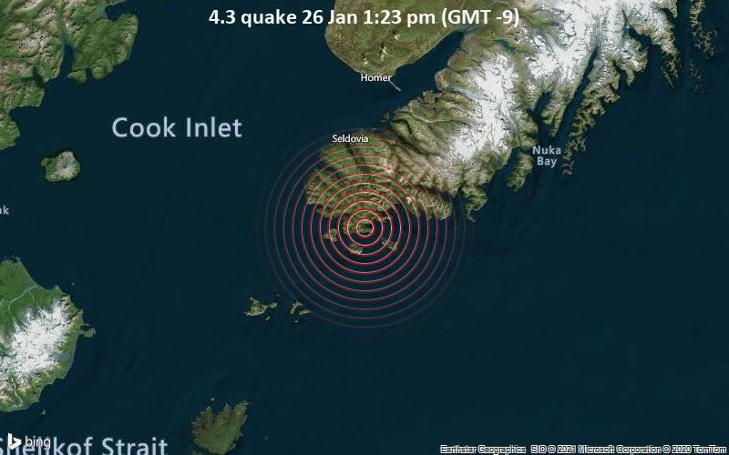 4.3 quake 26 Jan 1:23 pm (GMT -9)
