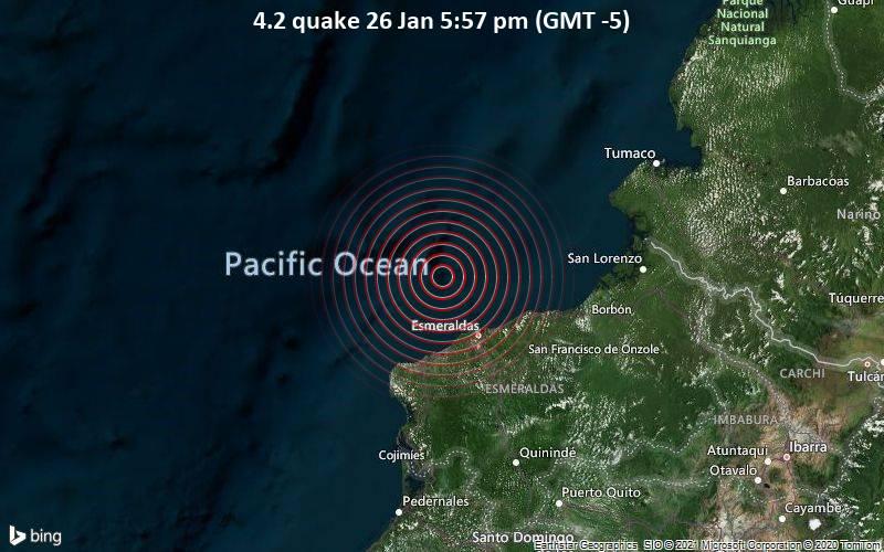 4.2 quake 26 Jan 5:57 pm (GMT -5)