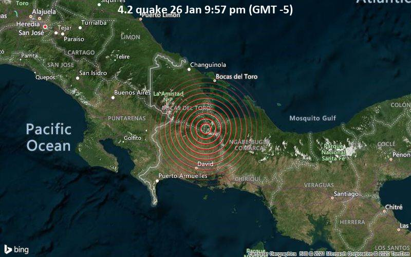 4.2 quake 26 Jan 9:57 pm (GMT -5)