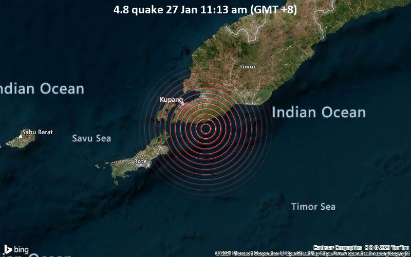 4.8 quake 27 Jan 11:13 am (GMT +8)