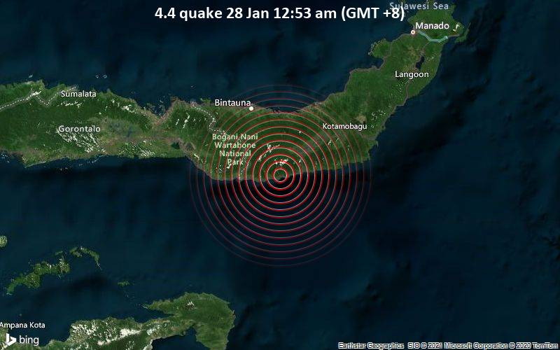 4.4 quake 28 Jan 12:53 am (GMT +8)
