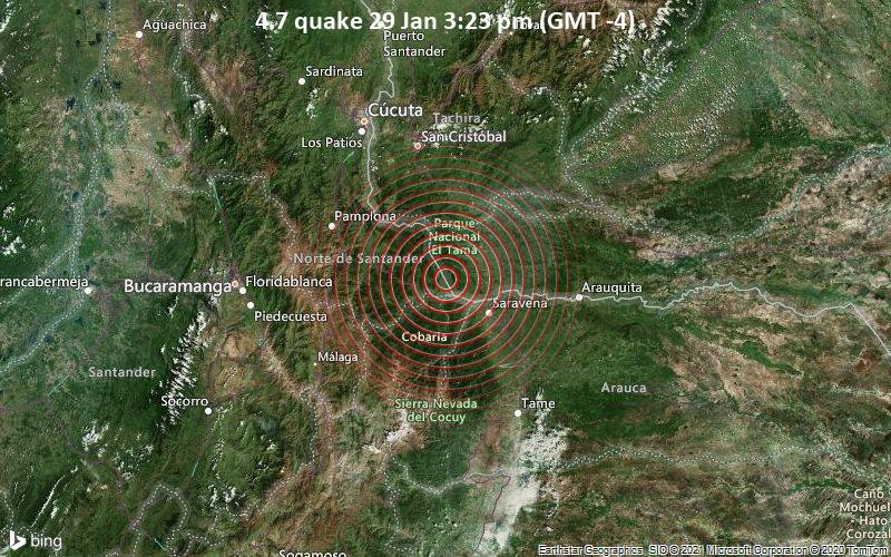 4.7 quake 29 Jan 3:23 pm (GMT -4)