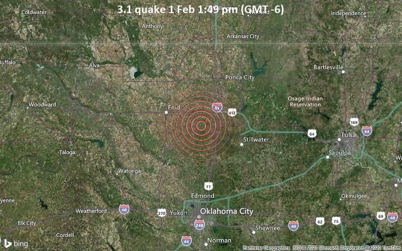 3.1 quake 1 Feb 1:49 pm (GMT -6)