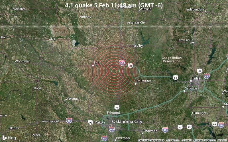 4.1 quake 5 Feb 11:48 am (GMT -6)