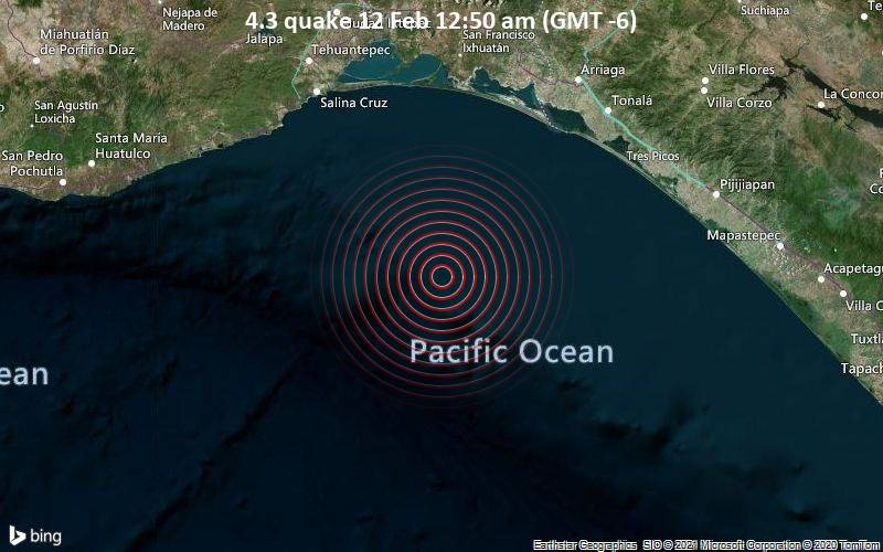 4.3 quake 12 Feb 12:50 am (GMT -6)