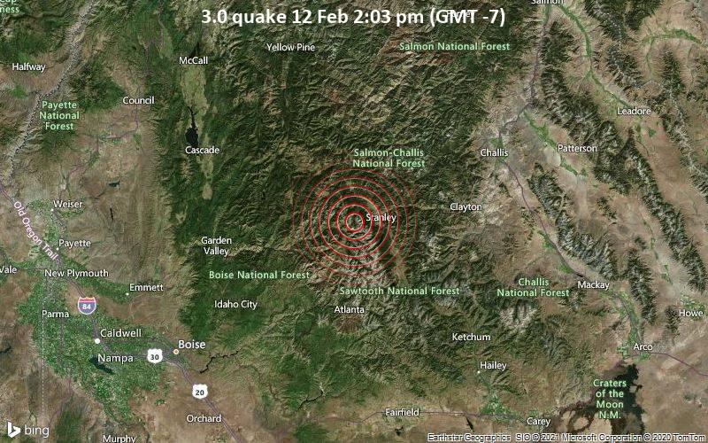 3.0 quake 12 Feb 2:03 pm (GMT -7)