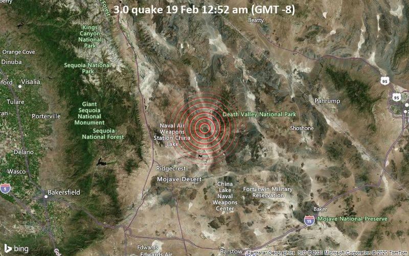 3.0 quake 19 Feb 12:52 am (GMT -8)