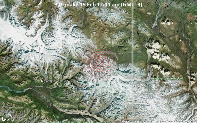 3.0 quake 19 Feb 12:11 am (GMT -9)