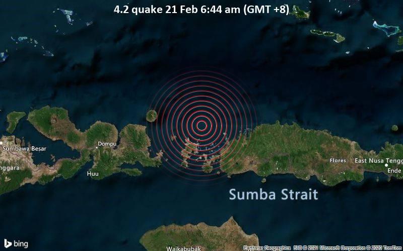 4.2 quake 21 Feb 6:44 am (GMT +8)