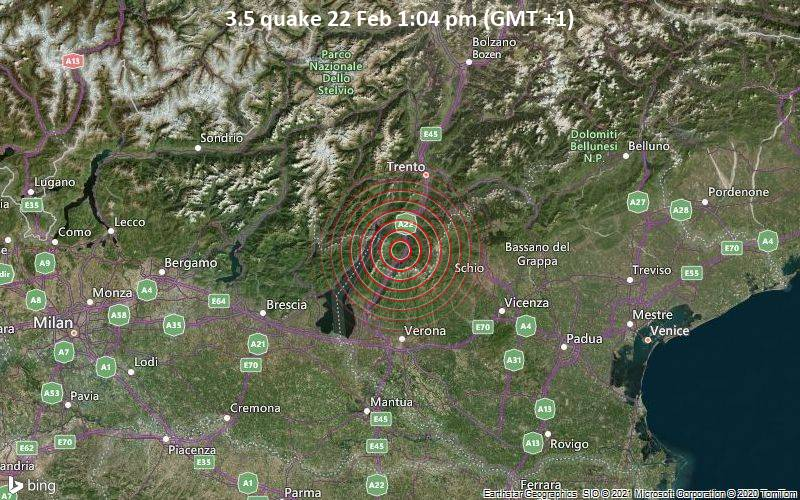 3.5 quake 22 Feb 1:04 pm (GMT +1)