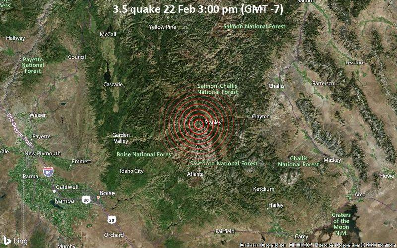 3.5 quake 22 Feb 3:00 pm (GMT -7)