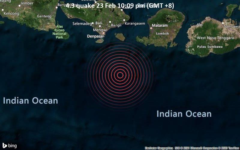 4.3 quake 23 Feb 10:09 pm (GMT +8)