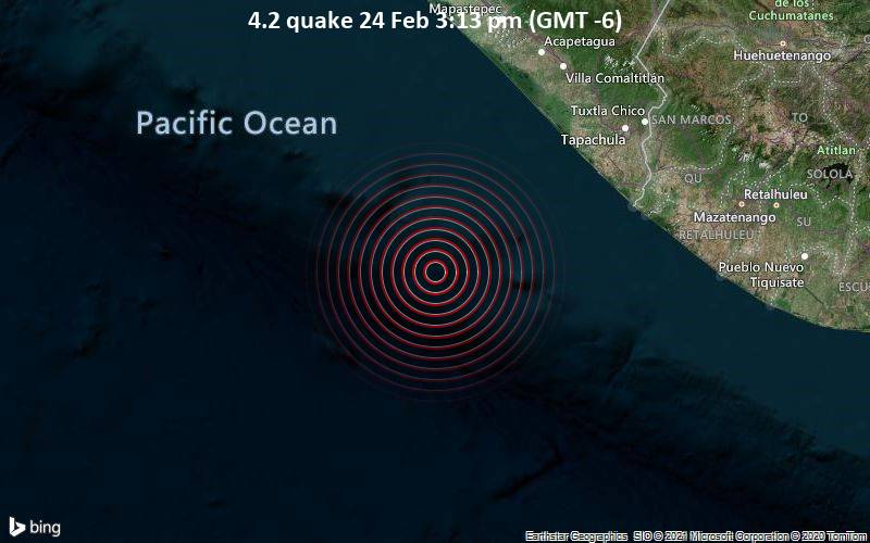 4.2 quake 24 Feb 3:13 pm (GMT -6)