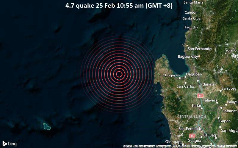 4.7 quake 25 Feb 10:55 am (GMT +8)