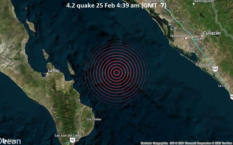 4.2 quake 25 Feb 4:39 am (GMT -7)
