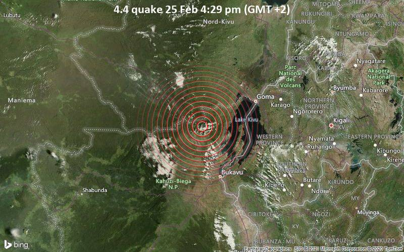 4.4 quake 25 Feb 4:29 pm (GMT +2)