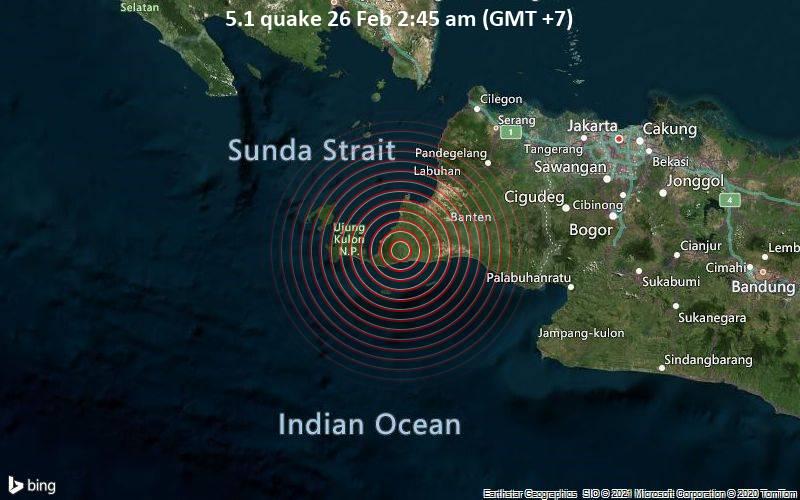 5.1 quake 26 Feb 2:45 am (GMT +7)