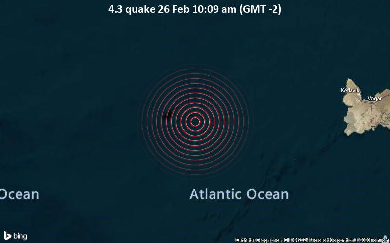 4.3 quake 26 Feb 10:09 am (GMT -2)