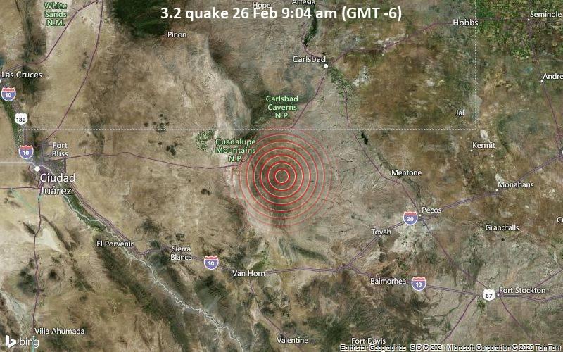 3.2 quake 26 Feb 9:04 am (GMT -6)