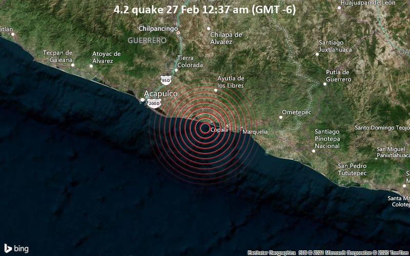 4.2 quake 27 Feb 12:37 am (GMT -6)